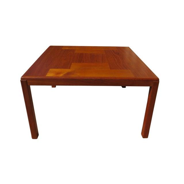 Wood 1960s Danish Mid-Century Modern Henning Kjaernulf Vejle Stole Møbelfabrik Side Table For Sale - Image 7 of 11