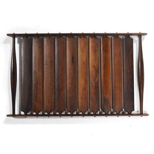 Danish Modern Jens Quistgaard Rosewood Tray by Dansk For Sale - Image 3 of 7