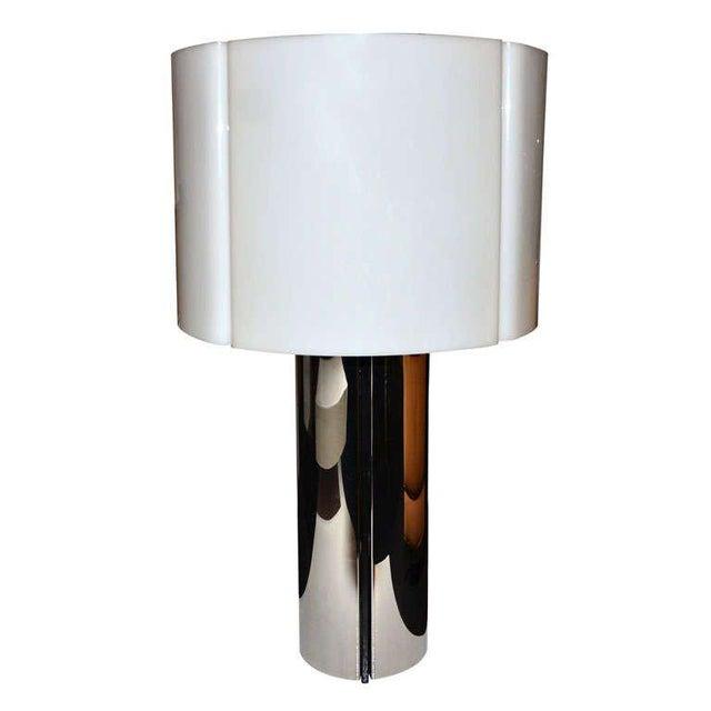 Hollywood Regency Gaetano Sciolari Table Lamp For Sale - Image 3 of 3