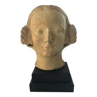 Bust of Young Italian Girl