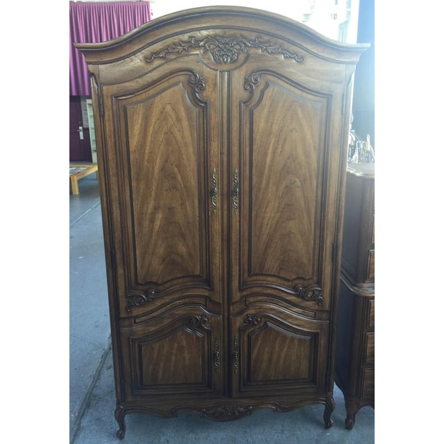Thomasville Armoire French Provincial | Chairish