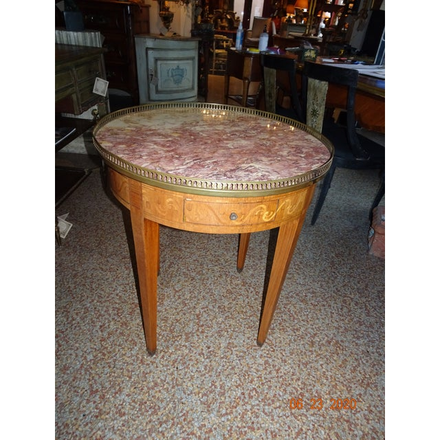 19th Century French Bouillotte Table For Sale - Image 12 of 13