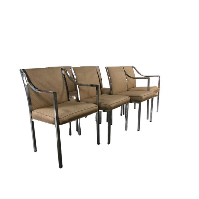 1970s 1970s Mid-Century Dining Chairs - Set of 6 For Sale - Image 5 of 5