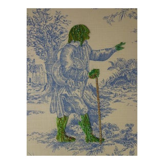 "RICHARD SAJA ""A GREEN MAN"""