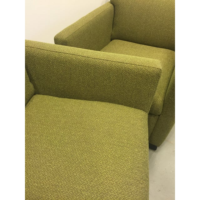 Green Club Chairs - Pair - Image 7 of 7