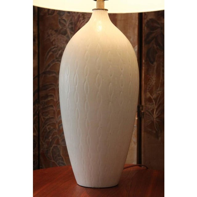 Hollywood Regency Table Lamp by Carl Harry Stalhane for Rörstrand For Sale - Image 3 of 10