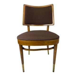 Mid-Century Thonet Style Bentwood Cafe Chair For Sale