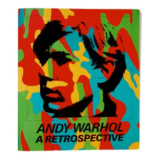 Andy Warhol, a Retrospective Book For Sale
