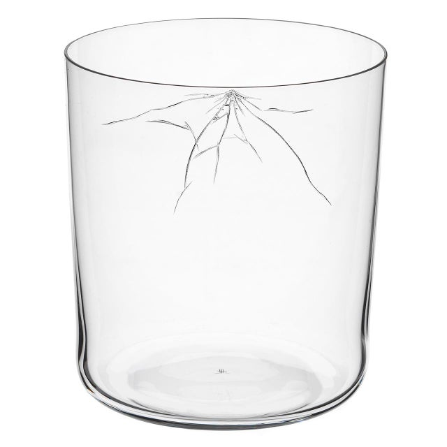 "Abstract ""Neo Crack"" D Tumbler by Murray Moss For Sale - Image 3 of 6"
