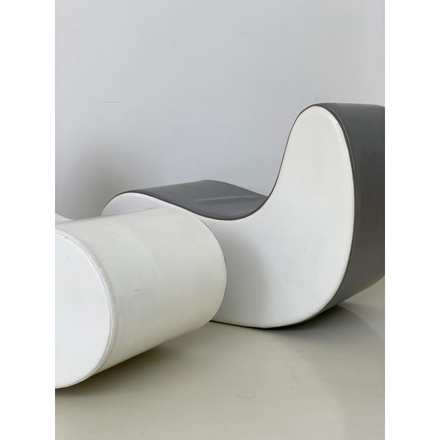 1960s Italian Rocking Boomerang Chairs - a Pair For Sale In New York - Image 6 of 12
