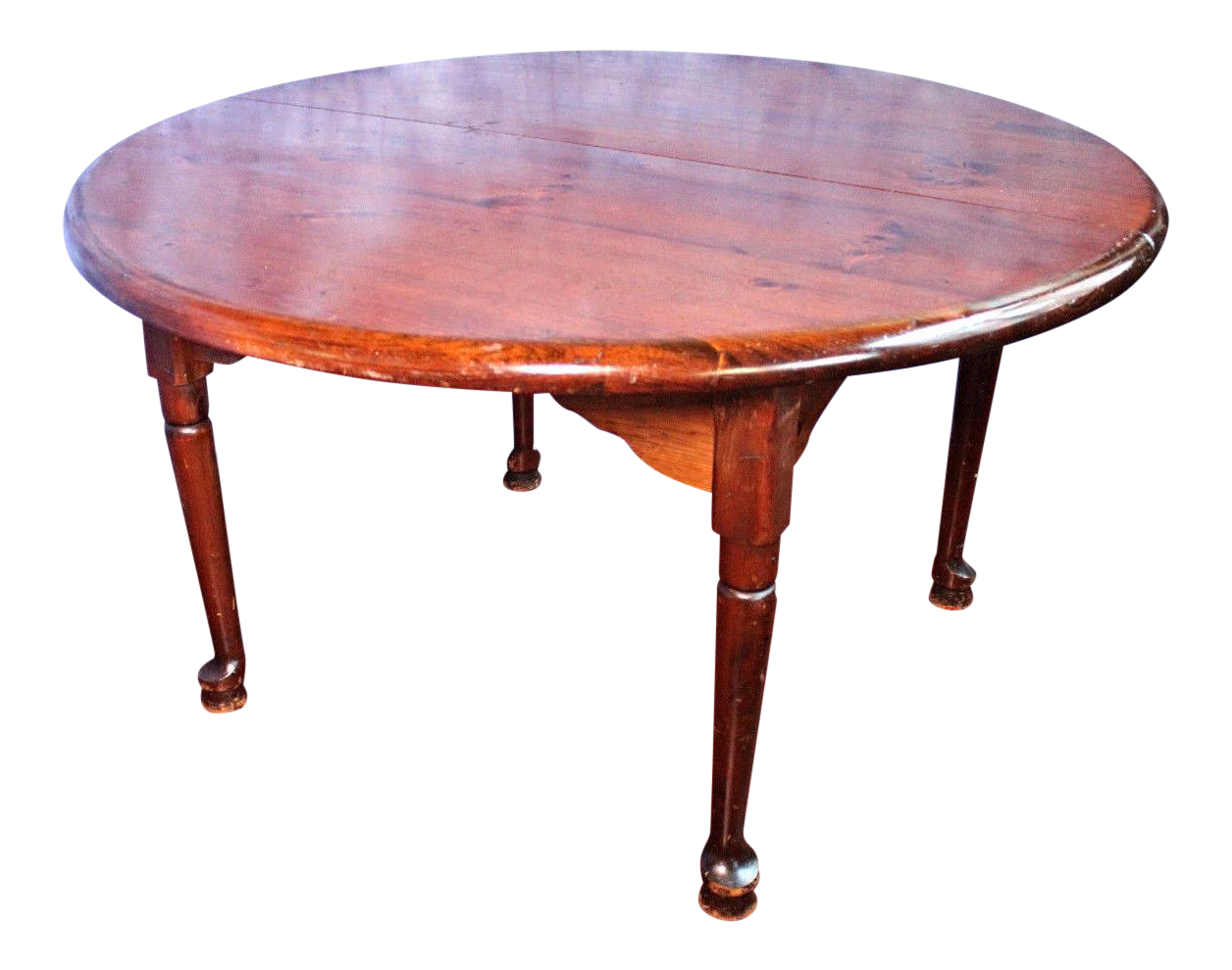 Antique Queen Anne Style Round Extension Dining Table  : antique queen anne style round extension dining table 3406aspectfitampwidth640ampheight640 from www.chairish.com size 640 x 640 jpeg 27kB