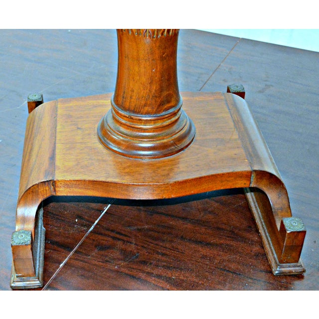 Early 20th Century Vintage Wooden Side Table For Sale - Image 5 of 7