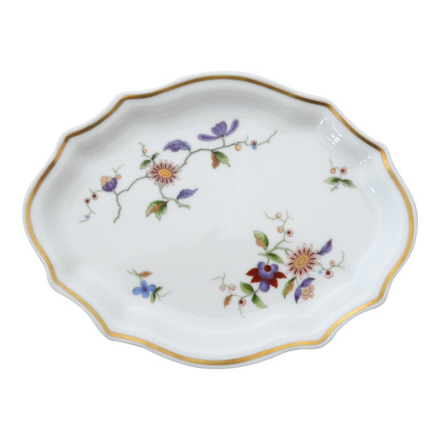Richard Ginori Oriente Italian Porcelain Relish Dish For Sale