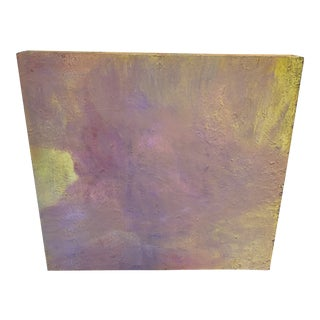 Abstract Large Scale Pastel Painting by Chicago Art Institute Professor For Sale