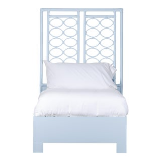 Infinity Bed Twin Extra Long - Blue For Sale