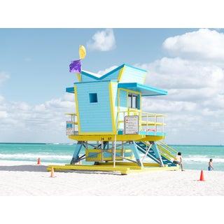 """The Office"" Contemporary Outdoor Still Life Beach Scene Photograph 41.5""w"