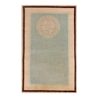 1930s Antique Chinese Art Deco Rug- 3′2″ × 5′ For Sale