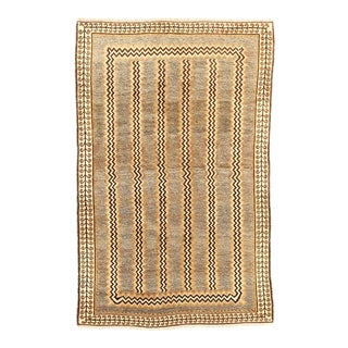 Antique Persian Area Rug Gabbeh Design For Sale