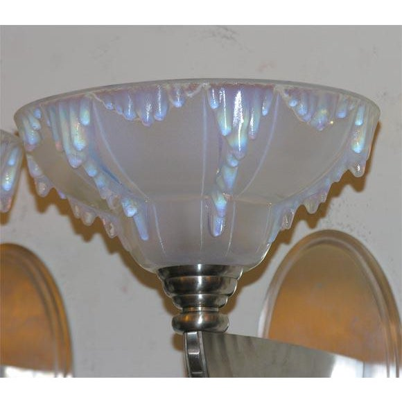 Art Deco French Art Deco Wall Sconces For Sale - Image 3 of 5