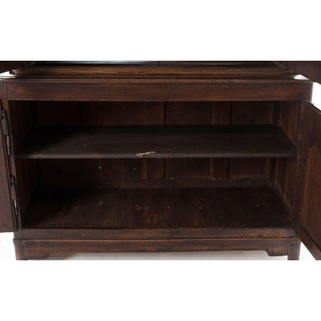 French 18th Century Oak Buffet A' Deux Corps For Sale - Image 9 of 10