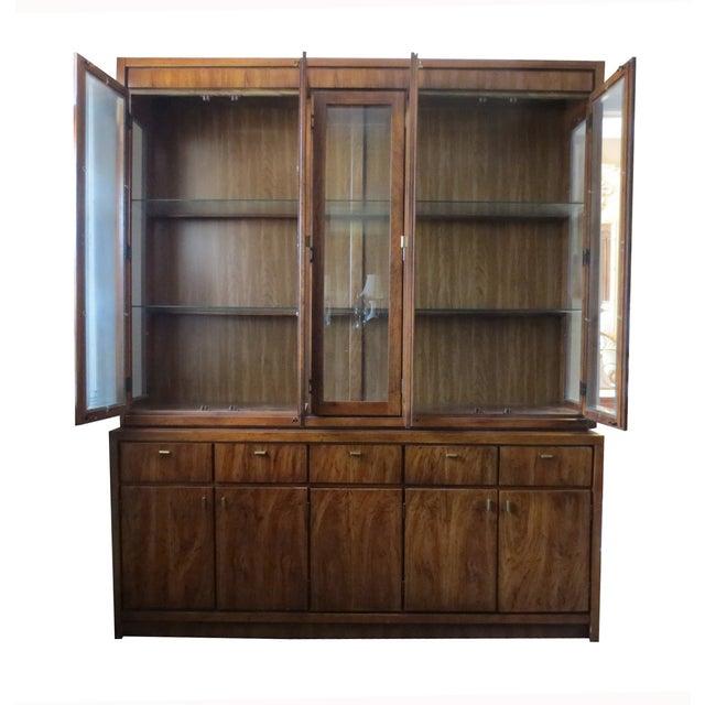 Beveled Glass China Display Cabinet - Image 2 of 7