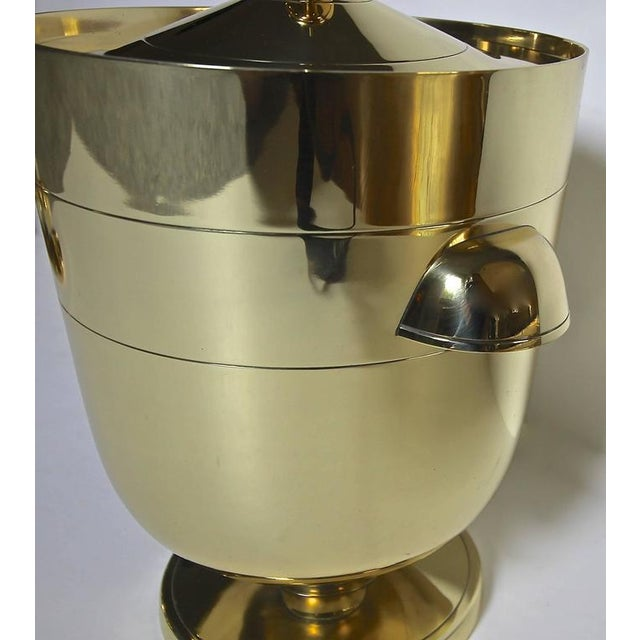 1950s 1950s Vintage Tommi Pazinger for Dorlyn Brass Ice/Champagne Bucket For Sale - Image 5 of 11