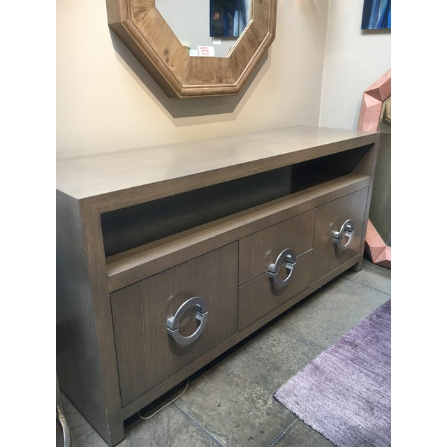 Custom Grey Wash Console - Image 8 of 9