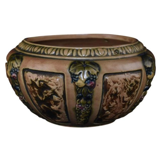 Roseville Florentine Pottery Pot - Image 1 of 5