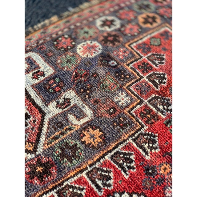 1940s Vintage Persian Qasghi Rug - 5′1″ × 7′10″ For Sale - Image 11 of 13