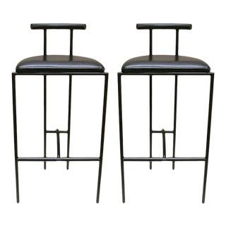 1980s Bieffeplast Barstools Designed by Rodney Kinsman, Italy - A Pair