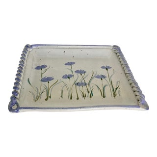 Studio Pottery Catchall Plate