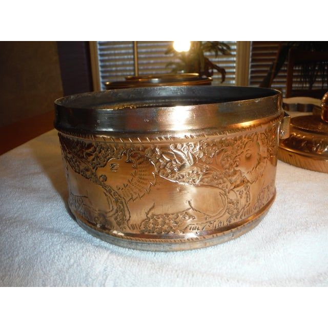 "Vintage Copper Clad ""Tiffin"" or ""Dabba"" - Image 9 of 9"