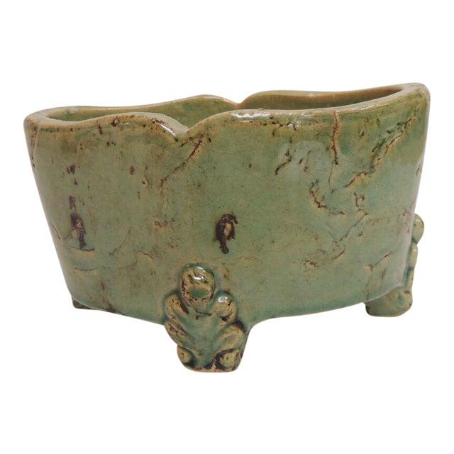 Vintage Chinese Ceramic Planter - Image 1 of 5