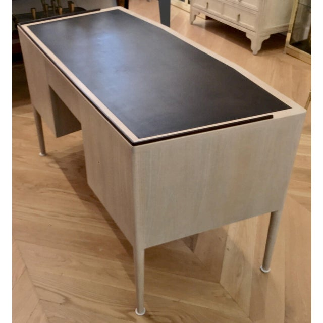 Mid Century Modern Edward Wormley for Dunbar Desk For Sale In San Francisco - Image 6 of 11