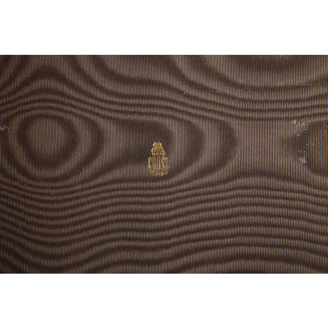 Metal Mark Cross Leather Brown Leather Jewelry Box From the Collection of Ann Turkel For Sale - Image 7 of 13