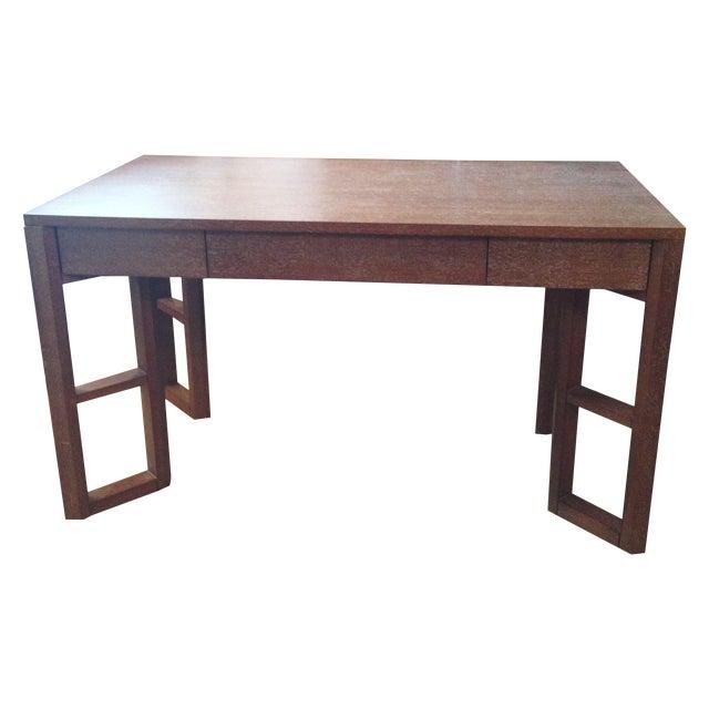 Bungalow 5 Desk in Cerused Oak - Image 1 of 4