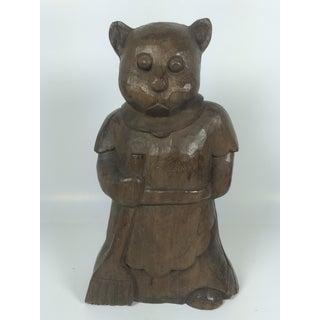 Vintage Carved Wood Bear Paper Mache Mold/Sculpture Preview