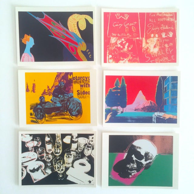 Andy Warhol Rare Vintage 1995 Pop Art Collector's Trading Cards - Set of 36 - Image 6 of 12