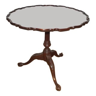 Baker Tilt Top Tea Table For Sale