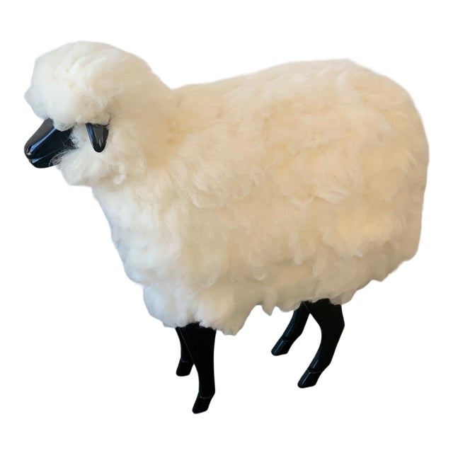 Wool Sheep Stool For Sale