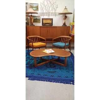 1950s Vintage Folke Ohlsson Dux Teak Arm Chairs- A Pair Preview