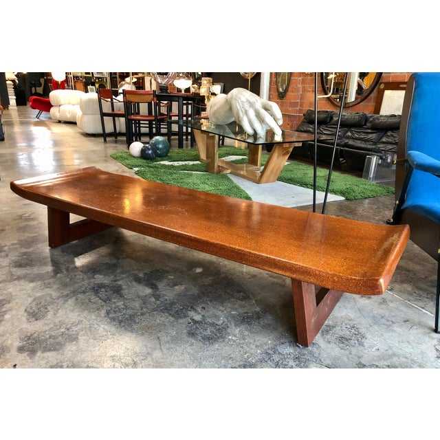 This stunning bench is a rare substantial and designed one with super sturdy construction on either side of the double...