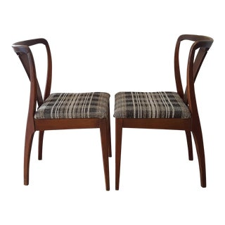 1970s Mid Century Modern John Boone Dining Chairs - a Pair For Sale