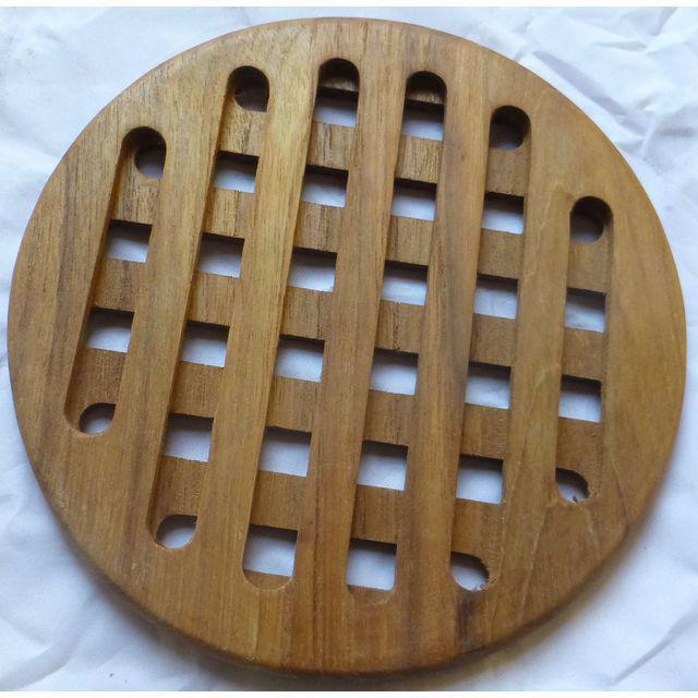 Mid-Century Danish Modern Teak Hot Plates - Set of 6 - Image 7 of 8