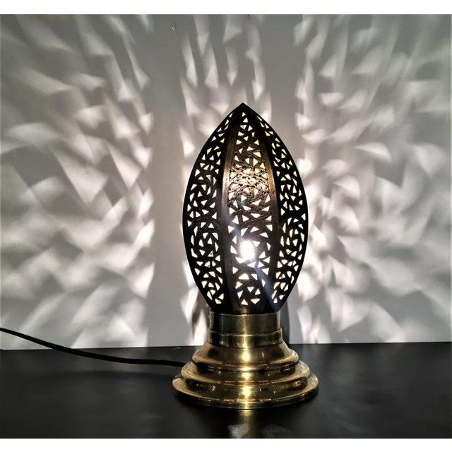 Egg-Shape Copper Casablanca Lamp - Image 5 of 5