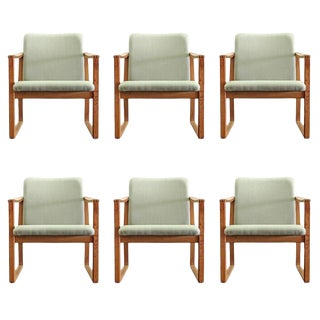 1950s Vintage Børge Mogensen Dining Chairs- Set of 6 For Sale