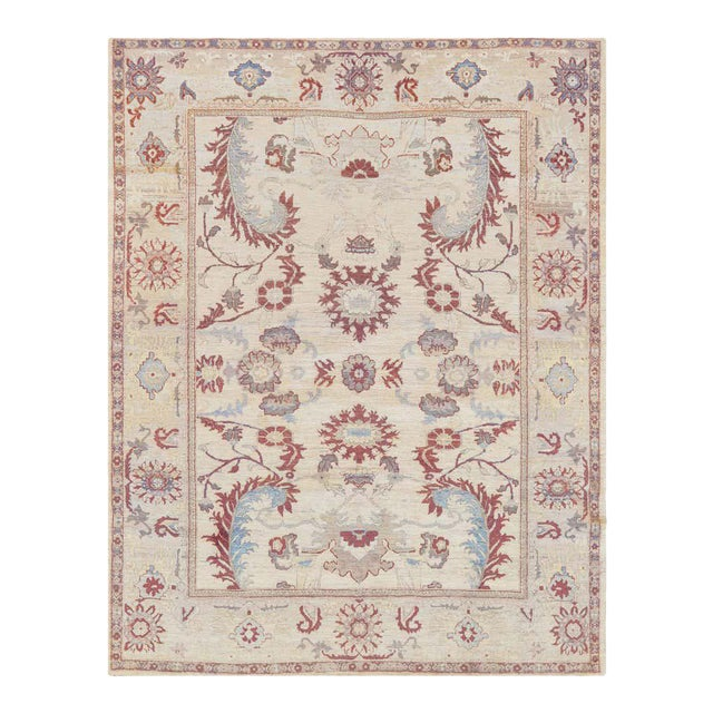 Handwoven Persian Sultanabad Rug For Sale