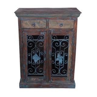 Rustic Karloy Wood Cabinet