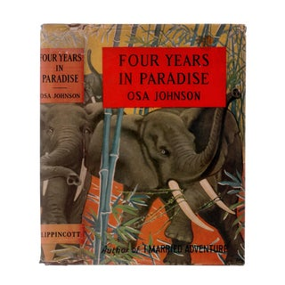"""1941 """"First Edition, Four Years in Paradise"""" Collectible Book For Sale"""