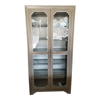 Hooker Modern Romance Display Cabinet For Sale